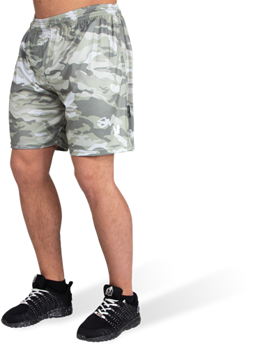Kansas Shorts - Legergroen Camo