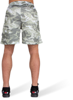 Kansas Shorts - Army Green Camo-3