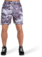 Kansas Shorts - Black/Gray Camo