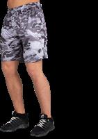 Kansas Shorts - Zwart/Grijs Camo