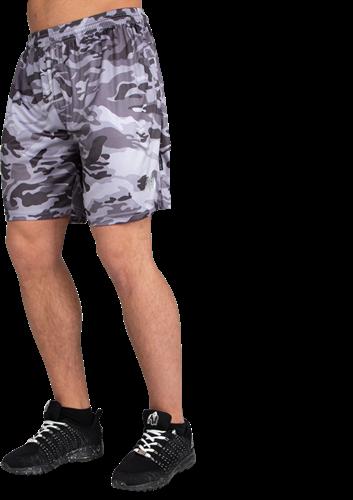 Kansas Shorts - Zwart/Grijs Camo - L
