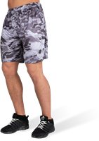 Kansas Shorts - Black/Gray Camo-2