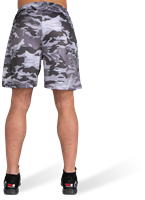 Kansas Shorts - Black/Gray Camo-3
