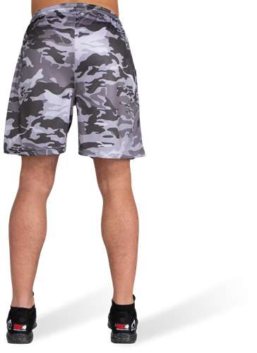 Kansas Shorts - Zwart/Grijs Camo-3