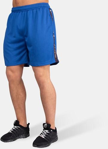 Reydon Mesh Shorts - Blue-2