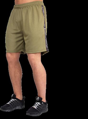 Reydon Mesh Shorts - Army Green