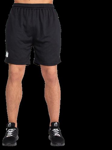 Reydon Mesh Shorts - Black
