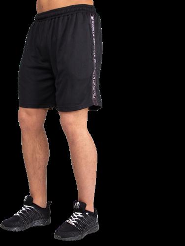 Reydon Mesh Shorts - Black-2