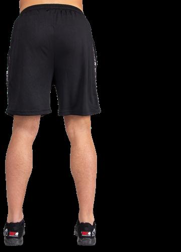 Reydon Mesh Shorts - Black-3