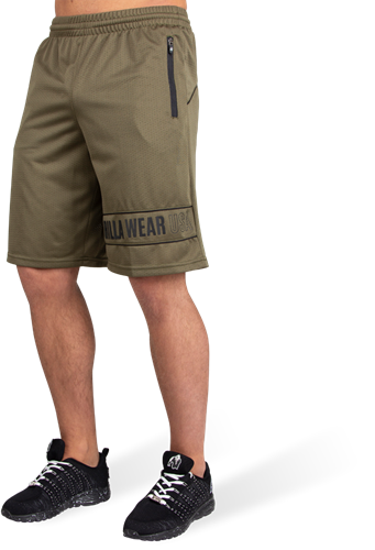 Branson Shorts - Army Green/Black
