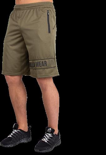 Branson Shorts - Legergroen/Zwart