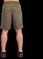 Branson Shorts - Legergroen/Zwart-3