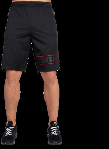 Branson Shorts - Zwart/Rood-2