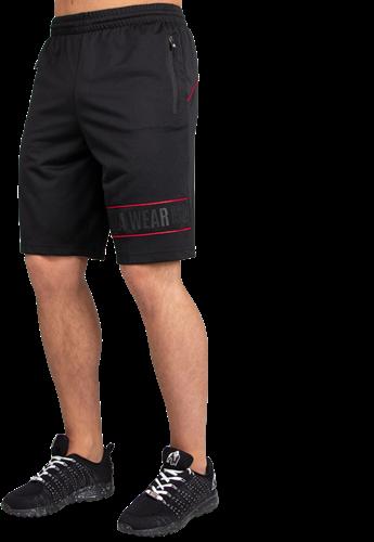 Branson Shorts - Zwart/Rood