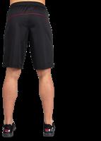Branson Shorts - Zwart/Rood-3