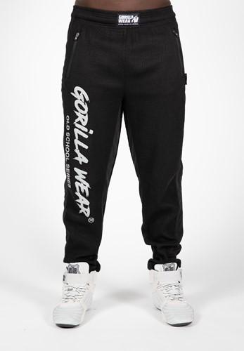Gorilla Wear Augustine Old School Pant Black Hose Sport Blau Fitness Workout