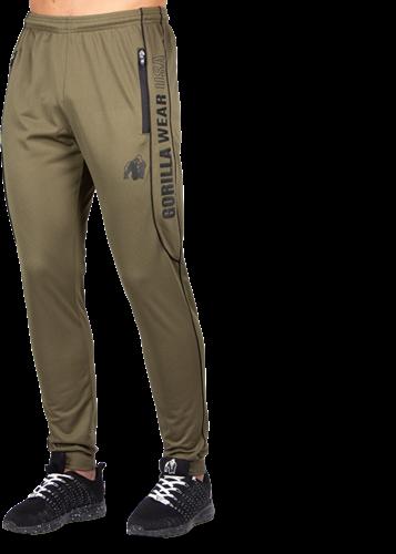Branson Pants - Army Green/Black-3