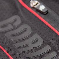 Branson Pants Black Red Detail Foto