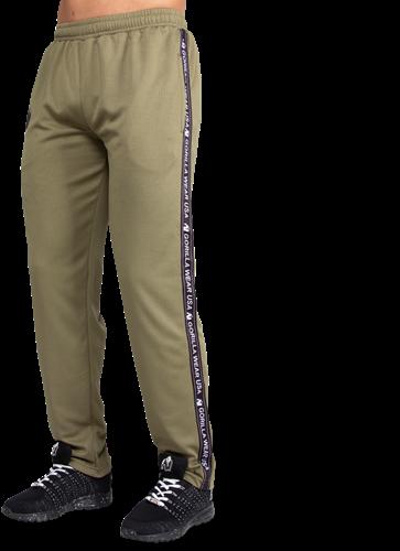 Reydon Mesh Pants - Army Green-2
