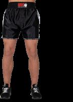 Henderson Muay Thai/Kickboxing shorts - Zwart/Grijs-2