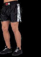 Henderson Muay Thai/Kickboxing shorts - Zwart/Grijs