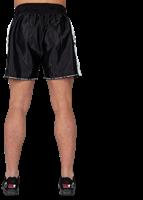 Henderson Muay Thai/Kickboxing shorts - Zwart/Grijs-3