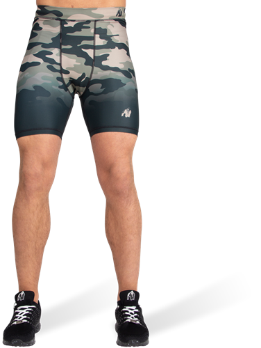 Franklin Shorts - Legergroen Camo-2