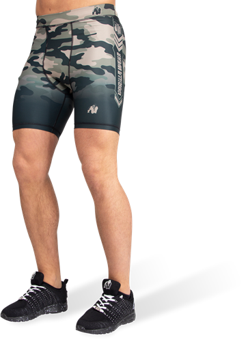 FRanklin Shorts - Legergroen Camo - S