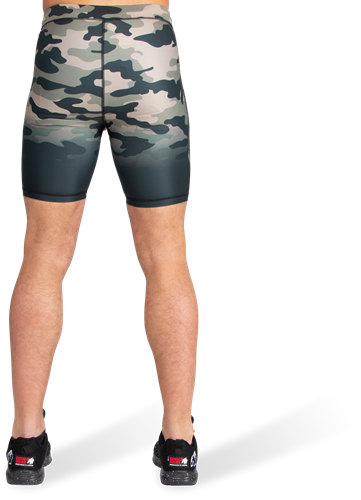 Franklin Shorts - Army Green Camo-3