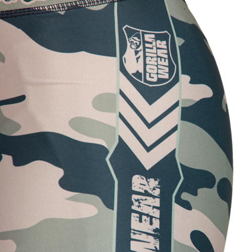 Franklin Shorts Army Green Camo - Detail