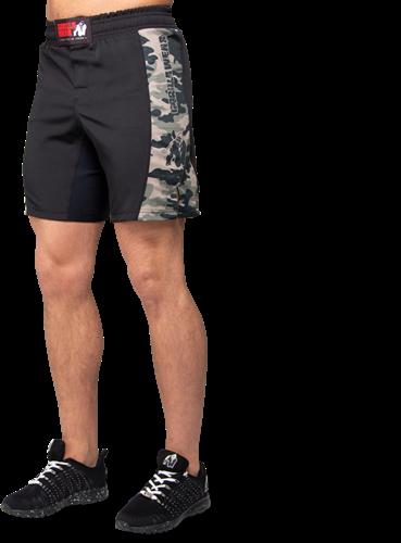 Kensington MMA Fight Shorts - Army Green Camo