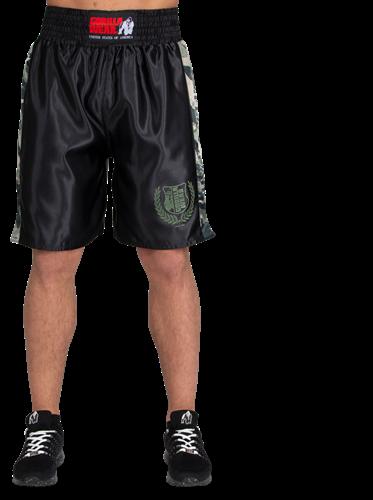 Vaiden Boxing Shorts - Army Green Camo-2