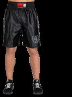 Vaiden Boxing Shorts - Black/Gray Camo