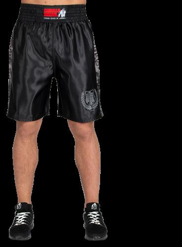 Vaiden Boxing Shorts - Zwart/Grijs Camo-2