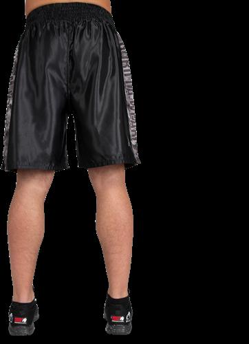 Vaiden Boxing Shorts - Black/Gray Camo-2