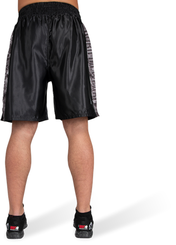 Vaiden Boxing Shorts - Black/Gray Camo-3