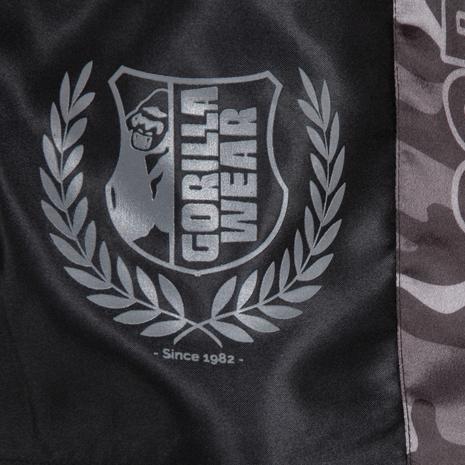 Vaiden Boxing Shorts Gray - Detail