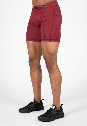 Smart Shorts - BordeauxRood
