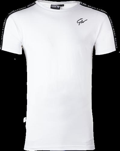Chester T-shirt - Wit/Zwart
