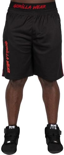 Mercury Mesh Shorts - Zwart/Rood