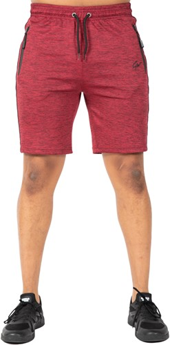 Wenden Track Shorts - Burgundy Red