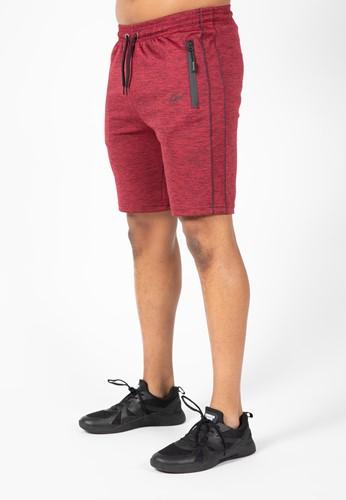 Wenden Track Shorts - Burgundy Red