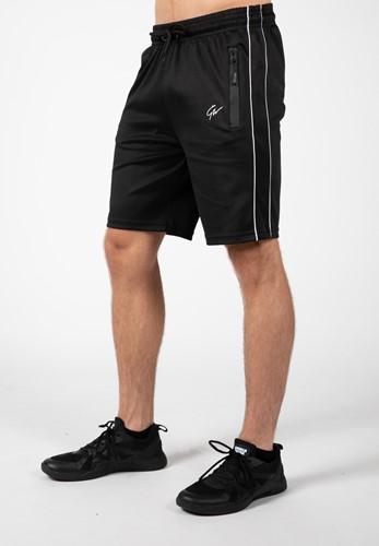 Wenden Track Shorts - Black/White