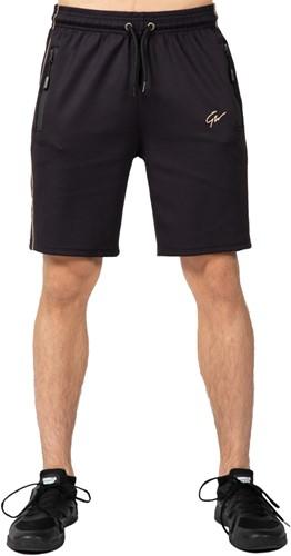 Wenden Track Shorts - Black/Gold
