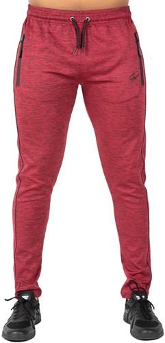 Wenden Track Pants - Burgundy Red