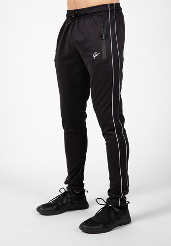Wenden Track Pants - Black/White