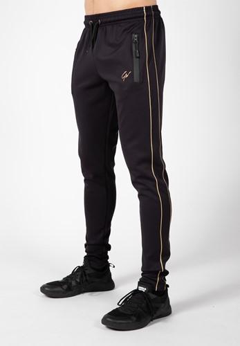 Wenden Track Pants - Black/Gold
