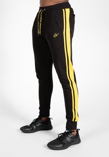 Banks Pants - Black/Yellow