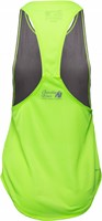 Florida Stringer Tank Top Grijs/Neon Lime-2