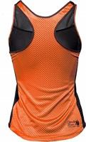Marianna Tank Top - Black/ Neon Orange-2